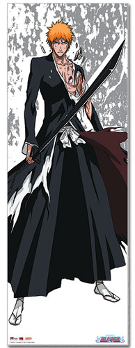Bleach Ichigo Oversize Wall Scroll, an officially licensed Bleach Wall Scroll