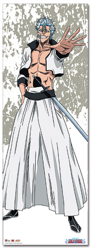 Bleach Grimmjow Oversize Wall Scroll, an officially licensed Bleach product at B.A. Toys.