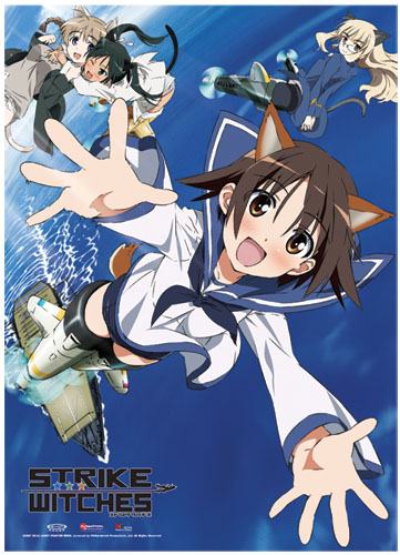 Strike Witches Crew Wallscroll, an officially licensed product in our Strike Witches Wall Scroll Posters department.