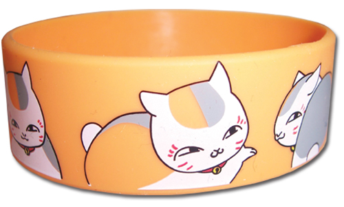 Natsume's Book Of Friends - Madara Pattern Pattern Pvc Wristband, an officially licensed product in our Natsume'S Book Of Friends Wristbands department.