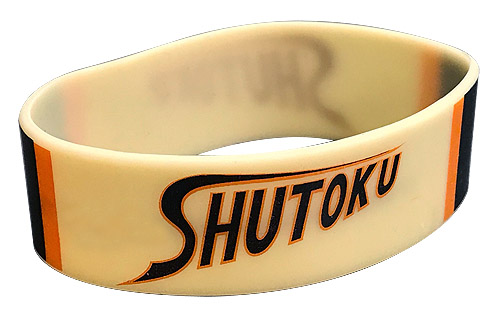 Kuroko'S Basketball - Team Shutoku Pvc Wristband officially licensed Kuroko'S Basketball Wristbands product at B.A. Toys.