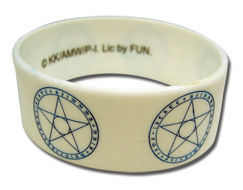 A Certain Magical Index Magic Circle Pvc Wristband officially licensed product at B.A. Toys.