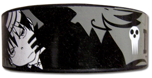 Soul Eater - Death The Kid Pvc Wristband officially licensed Soul Eater Wristbands product at B.A. Toys.