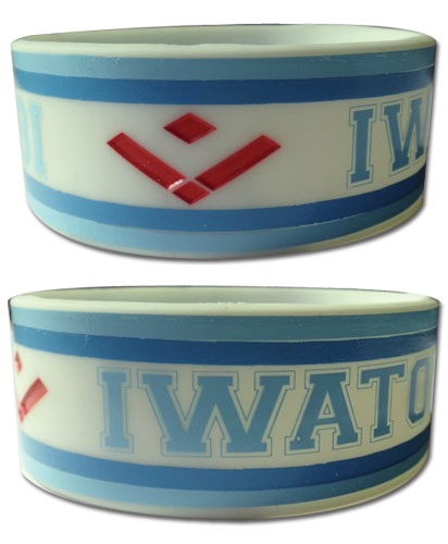 Free! - Iwatobi Pvc Wristband, an officially licensed product in our Free! Wristbands department.