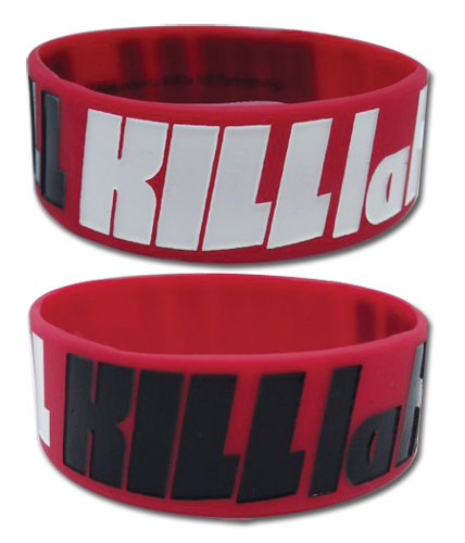 Kill La Kill - Logo Pvc Wristband, an officially licensed product in our Kill La Kill Wristbands department.