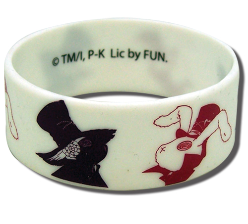 Karneval - Usagi & Hitsuji Pvc Wristband, an officially licensed product in our Karneval Wristbands department.