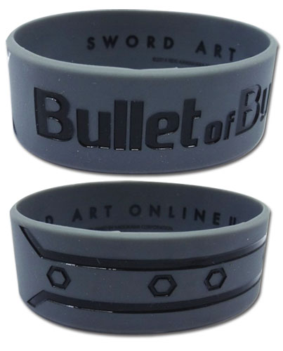 Sword Art Online - Bullet Of Bullets Pvc Wristband officially licensed Sword Art Online Wristbands product at B.A. Toys.