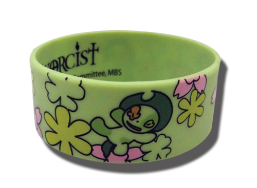 Blue Exorcist - Nii Pvc Wristband officially licensed Blue Exorcist Wristbands product at B.A. Toys.