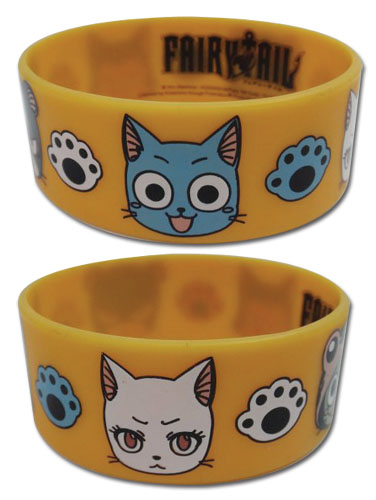 Fairy Tail - Exceed Pvc Wrsitband officially licensed Fairy Tail Wristbands product at B.A. Toys.