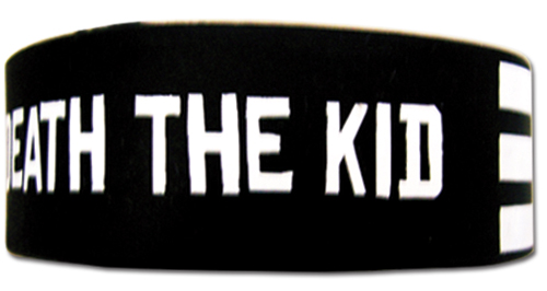 Soul Eater - Death The Kid Stripe Wristband officially licensed Soul Eater Wristbands product at B.A. Toys.
