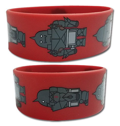 Fullmetal Alchemist Brotherhood - Al Pvc Wristband, an officially licensed product in our Fullmetal Alchemist Wristbands department.