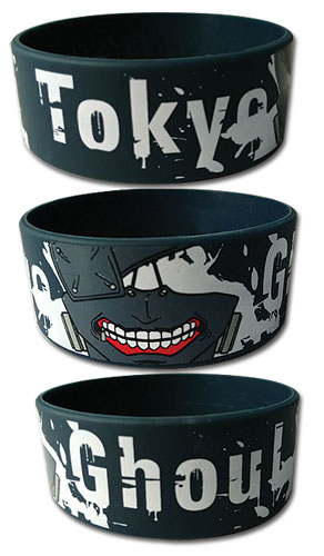 Tokyo Ghoul - Kaneki Mask Pvc Wrsitband, an officially licensed product in our Tokyo Ghoul Wristbands department.