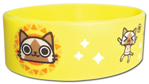 Airou From The Monster Hunter - Airou Pvc Wristband, an officially licensed product in our Airou From The Monster Hunter Wristbands department.