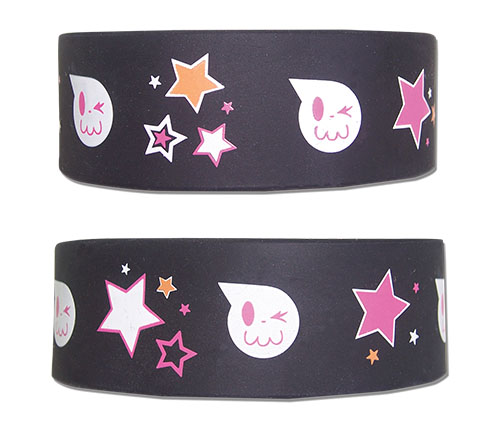 Soul Eater Not! - Skull Face Pvc Wristband, an officially licensed product in our Soul Eater Not! Wristbands department.