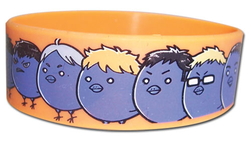 Haikyu!! - Full Group Sd Birds Pvc Wristband, an officially licensed product in our Haikyu!! Wristbands department.