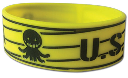 Assassination Classroom - Saauso Pvc Wristband, an officially licensed product in our Assassination Classroom Wristbands department.