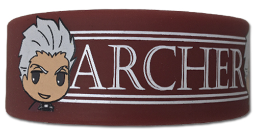 Fate/Stay Night - Archer Pvc Wristband, an officially licensed product in our Fate/Zero Wristbands department.