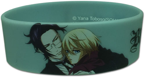 Black Butler 2 - Claude & Aloise Pvc Wristband officially licensed Black Butler Wristbands product at B.A. Toys.