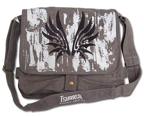 Tsubasa Wing Icon Messenger Bag, an officially licensed product in our Tsubasa Bags department.