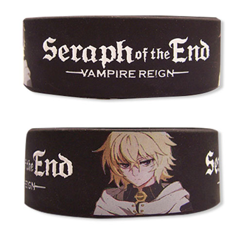 Seraph Of The End - Mikaela Pvc Wristband officially licensed Seraph Of The End Wristbands product at B.A. Toys.
