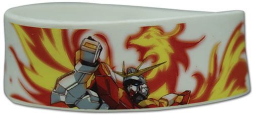 Gundam Build Fighters Try - Burning Gundam Pvc Wristband, an officially licensed product in our Gundam Build Fighters Try Wristbands department.