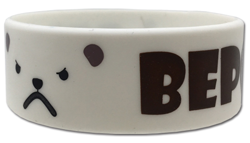 One Piece - Bepo Pvc Wristband officially licensed One Piece Wristbands product at B.A. Toys.