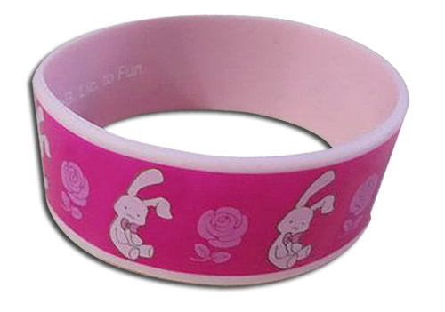 Ouran High School Host Club - Rabbit Pvc Wristband, an officially licensed product in our Ouran High School Host Club Wristbands department.