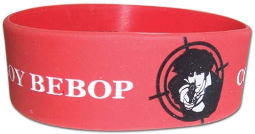 Cowboy Bebop - Spike Pvc Wristband, an officially licensed product in our Cowboy Bebop Wristbands department.