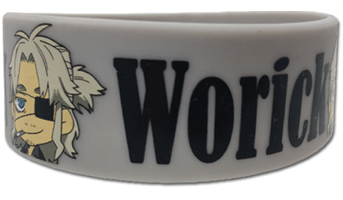 Gangsta - Worick Pvc Wristband officially licensed Gangsta Wristbands product at B.A. Toys.
