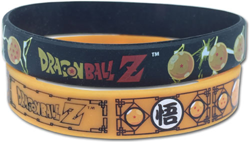 Dragon Ball Z - Seven Dragon Balls 2 Pack Wristband Set officially licensed Dragon Ball Z Wristbands product at B.A. Toys.