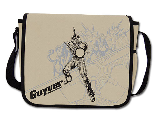 Guyver Gravity Orb Messenger Bag officially licensed product at B.A. Toys.