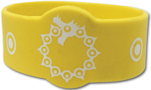 The Seven Deadly Sins - Wrath Pvc Wristband officially licensed The Seven Deadly Sins Wristbands product at B.A. Toys.