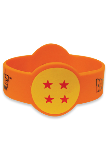 Dragon Ball Super - Dragonball #4 Pvc Wristband officially licensed Dragon Ball Super Wristbands product at B.A. Toys.