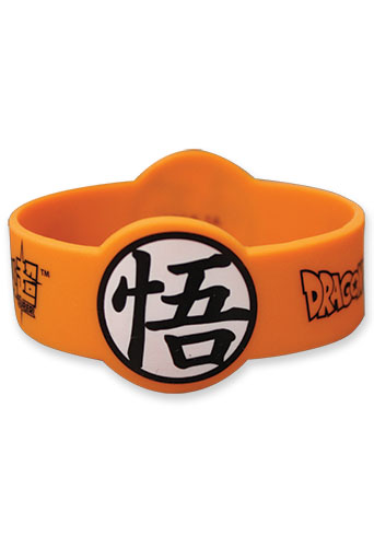 Dragon Ball Super - Goku Symbol Pvc Wristband, an officially licensed product in our Dragon Ball Super Wristbands department.