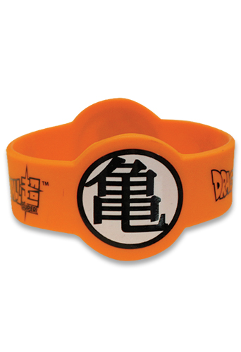 Dragon Ball Super - Kamen Symbol Pvc Wristband officially licensed Dragon Ball Super Wristbands product at B.A. Toys.