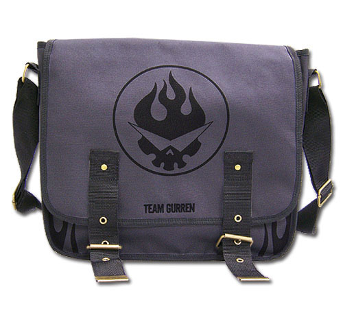 Gurren Lagann Team Gurren Messenger Bag, an officially licensed product in our Gurren Lagann Bags department.