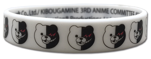 Danganronpa 3 - Monokuma Pvc Wristband officially licensed Danganronpa Wristbands product at B.A. Toys.