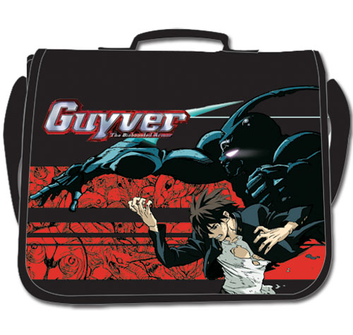 Guyver Fighting Stance Messenger Bag, an officially licensed product in our Guyver Bags department.