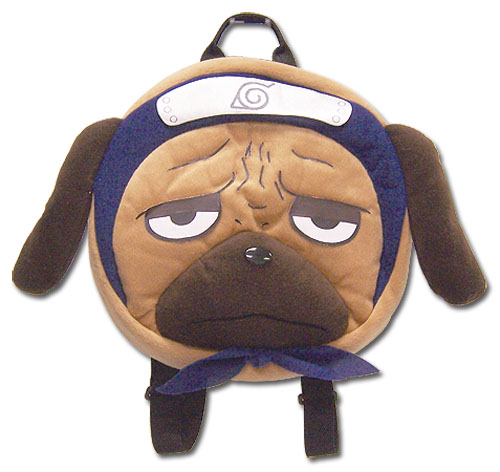 Naruto Pakkun Plush Bag, an officially licensed product in our Naruto Bags department.