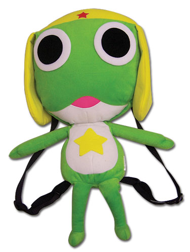 Sergeant Frog Keroro Plush Bag officially licensed product at B.A. Toys.