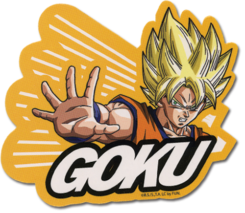 Dragon Ball Z Ss Goku Sticker, an officially licensed product in our Dragon Ball Z Stickers department.