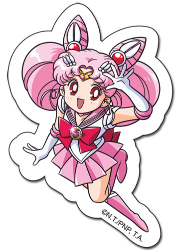 Sailormoon S Chibimoon Sticker, an officially licensed product in our Sailor Moon Stickers department.