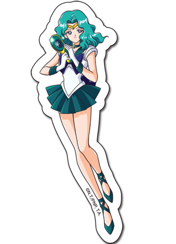 Sailormoon S Sailor Neptune Sticker, an officially licensed product in our Sailor Moon Stickers department.