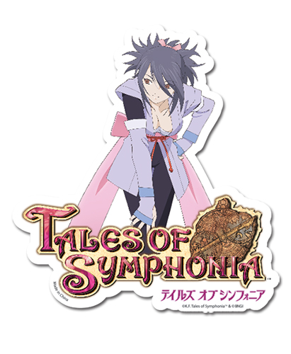 Tales Of Symphonia - Sheena Die Cut Sticker, an officially licensed product in our Tales Of Symphonia Stickers department.