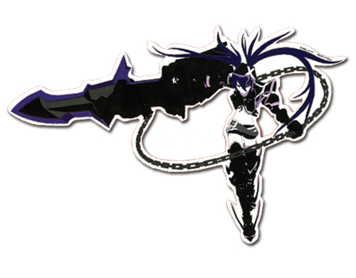 Black Rock Shooter Ibrs Sticker, an officially licensed Black Rock Shooter product at B.A. Toys.