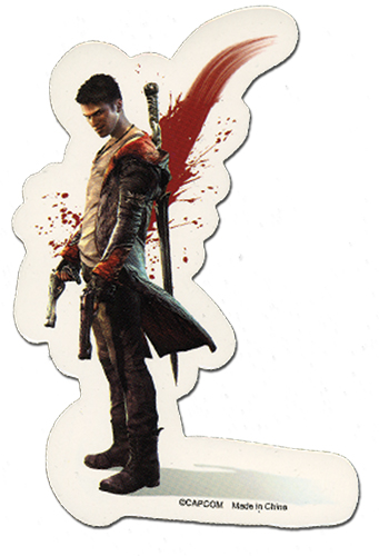 Devil May Cry Dante Sticker, an officially licensed Devil May Cry product at B.A. Toys.