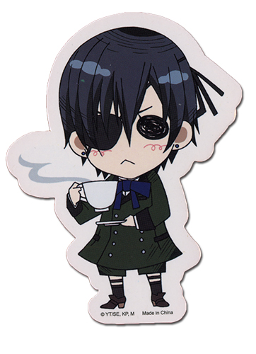 Black Butler Ciel Sticker, an officially licensed product in our Black Butler Stickers department.