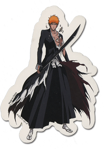 Bleach Ichigo Sticker, an officially licensed Bleach product at B.A. Toys.