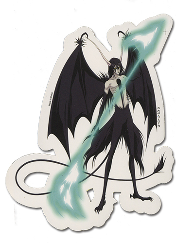 Bleach Ulquiorra Sticker, an officially licensed Bleach product at B.A. Toys.
