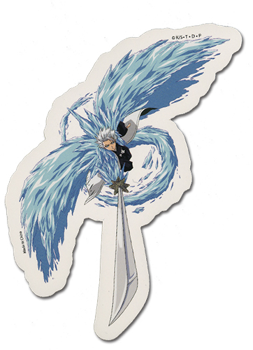 Bleach Toshiro Sticker, an officially licensed product in our Bleach Stickers department.